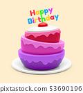 케이크, 생일, 탄생 53690196