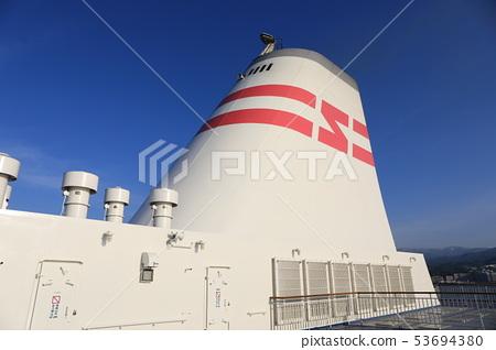 신 일본해 페리, 진달래의 굴뚝. 53694380