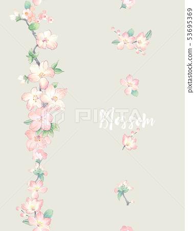 水彩花連衣裙,武士,婚禮儀式,婚禮儀式 53695369