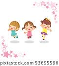 女孩三重奏跳得很好[星框] 53695596