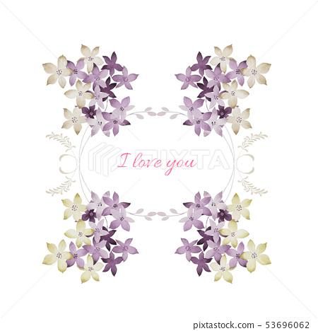 水彩花,玫瑰元素,玫瑰,愛玫瑰,母親玫瑰,婚禮,生日 53696062