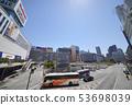 일본 도쿄 도시 경관 신주쿠 역 서쪽 출구 등 희망 53698039