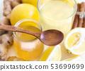Honey, lemon and ginger tonic 53699699