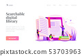 Ebook landing page template 53703963