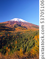 Fuji of autumn leaves season 53705106