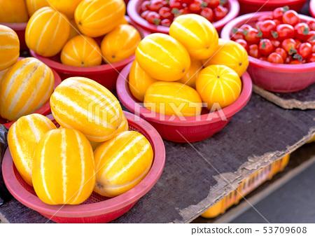 瓜瓜,瓜,瓜,瓜,瓜,瓜,西瓜,新鮮,新鮮,韓國瓜,傳統市場,韓國 53709608