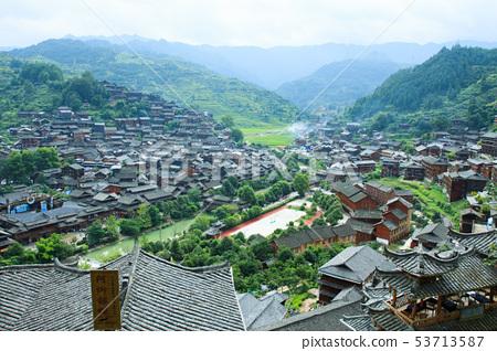 千戶苗寨,中國,貴州省 53713587