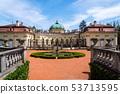 Buchlovice castle architecture detail in Moravia 53713595