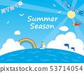 여름 배경 3 53714054