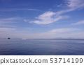 有明海,天空和云彩6 53714199