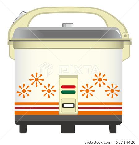 Retro rice cooker 53714420