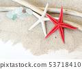 Sea glasses, starfish and wood - Tropical travel 53718410