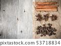 Retro spices background 53718834