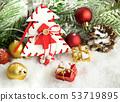 Christmas background 53719895
