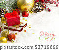 Christmas composition 53719899
