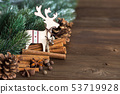 Christmas background 53719928