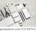 Blank corporate stationery 53720741