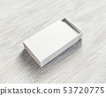 Blank paper box 53720775