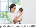 우유를 마시면 아기 53725488