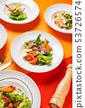 set in the restaurant 53726574