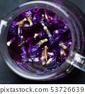 Organic blue tea Anchan, Clitoria, Butterfly Pea 53726639