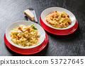 카르 보 나라 스파게티 Spaghetti Carbonara 53727645