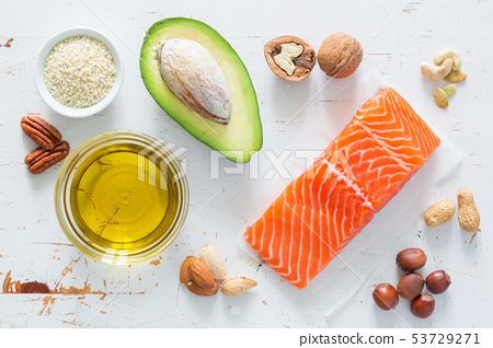 Selection of good fat saurces 53729271