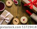 Christmas baking background 53729418