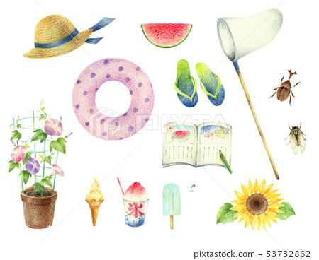 아이들의 여름 방학 세트 53732862