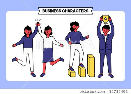 비즈니스 캐릭터 03 53735498