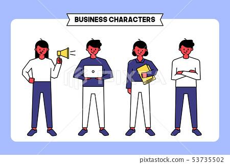 비즈니스 캐릭터 07 53735502