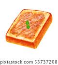 토스트 프렌치 두껍게 썬 각형 53737208