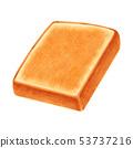 토스트 두껍게 썬 각형 53737216