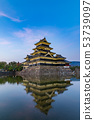 Matsumoto Castle in the evening 53739097
