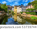 Luxembourg city, capital of Grand Duchy Luxembourg 53739744