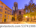 Aix Cathedral in Aix-en-Provence, France 53741986