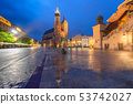 Main market square, Krakow, Poland 53742027