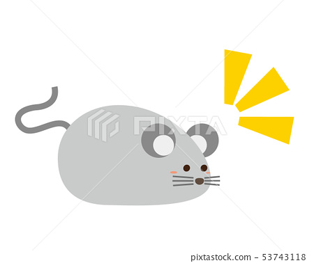 老鼠年2020新年卡片例證 53743118
