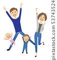 家庭兩代家庭跳 53743524