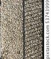 小卵石陰影石渣石籬芭材料照片 53743999