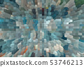 Abstract extruding 3D background 53746213