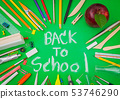 Back to school background 53746290