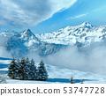 Winter mountain landscape, Austria, Bavaria 53747728