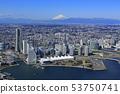 요코하마 항과 후지산 / 미나토 미라이 53750741