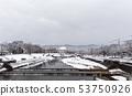 Kamogawa - snow scenery 53750926