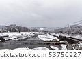 Kamogawa - snow scenery 53750927