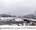 Kamogawa - snow scenery 53750929
