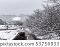 Kamogawa - snow scenery 53750933