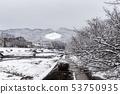 Kamogawa - snow scenery 53750935