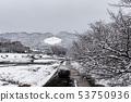 Kamogawa - snow scenery 53750936